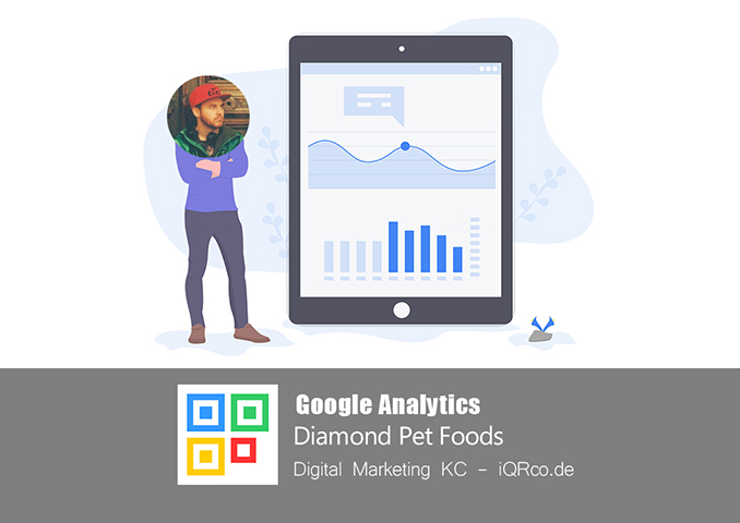 Google Analytics - Diamond Pet Foods
