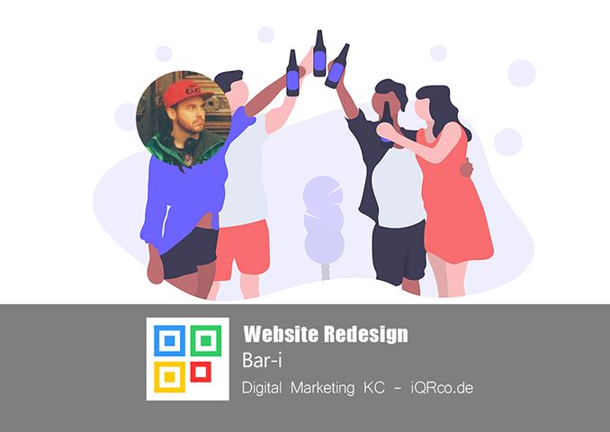 Website Redesign - Bar-i