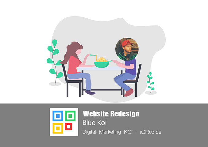 Website Redesign - Blue Koi
