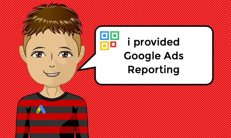 I provided Google Ads Reporting Services - Image - iQRco.de