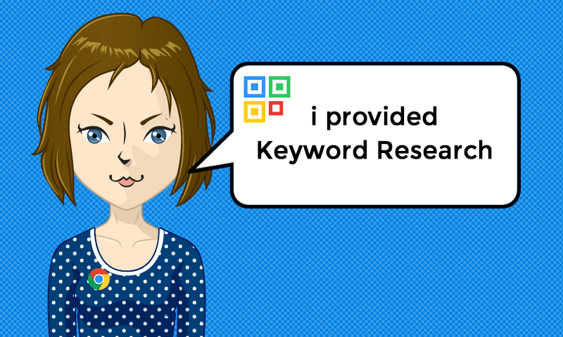 I provided Keyword Research Services - Image - iQRco.de