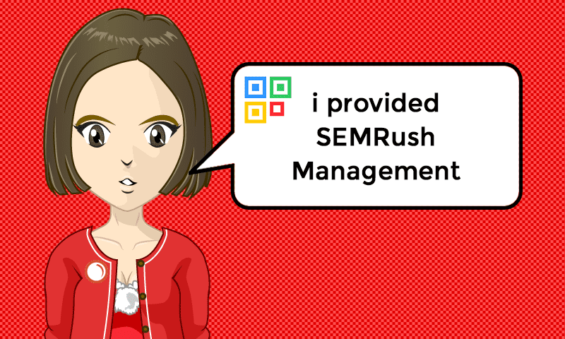 I provided SEMRush Management Services - Image - iQRco.de