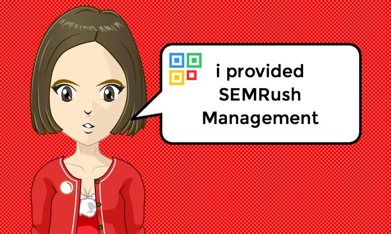 I provided SEMRush Management Services - Image - iQRco.de
