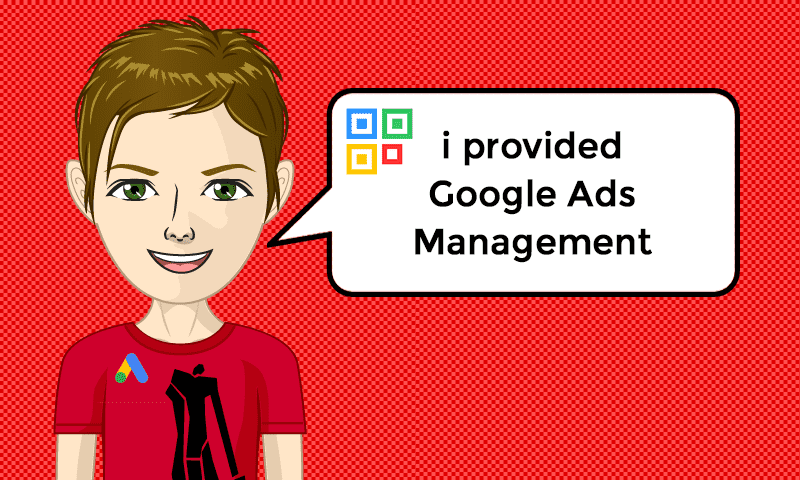 I provided Google Ads Management Services - Image - iQRco.de