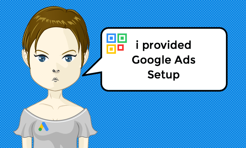 I provided Google Ads Setup Services - Image - iQRco.de