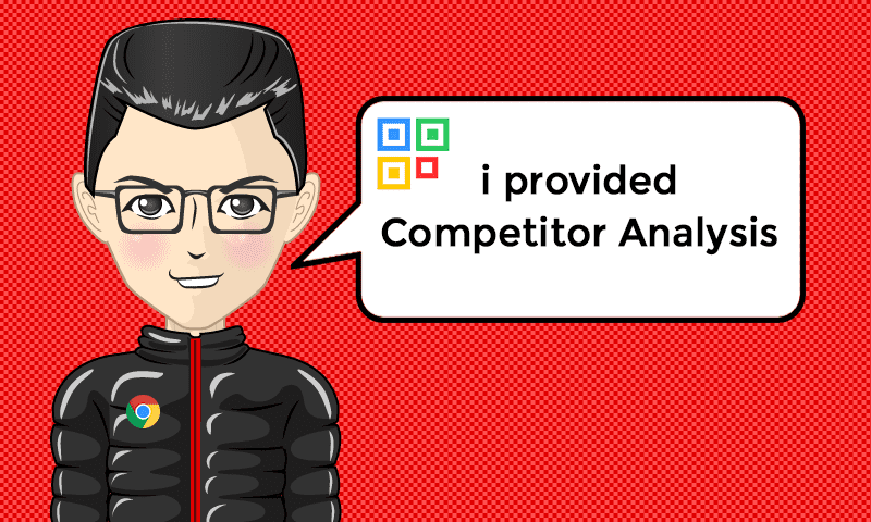 I provided Competitor Analysis Services - Image - iQRco.de