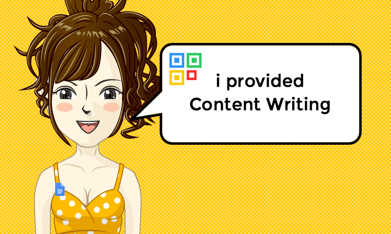 I provided Content Writing Services - Image - iQRco.de