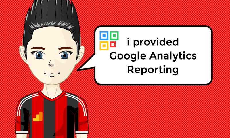 I provided Google Analytics Reporting Services - Image - iQRco.de