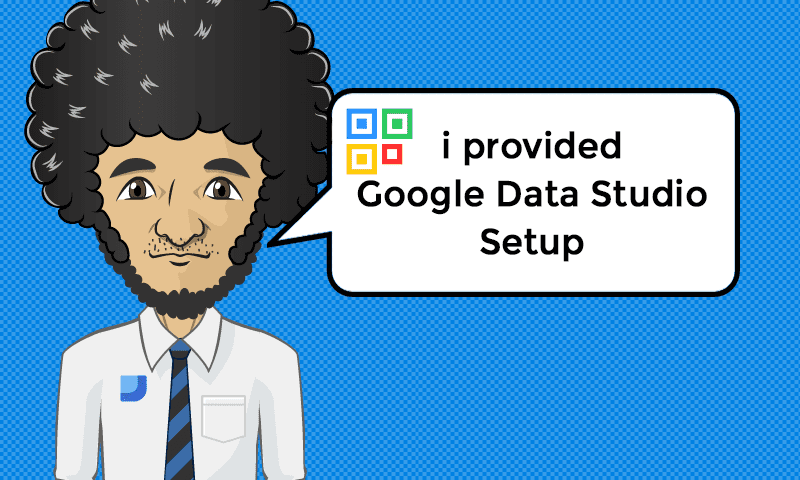 I provided Google Data Studio Setup Services - Image - iQRco.de
