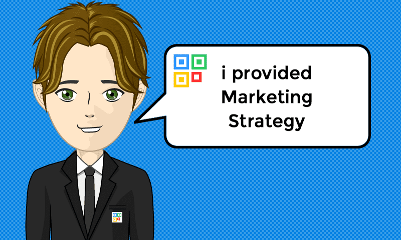 I provided Marketing Strategy Services - Image - iQRco.de