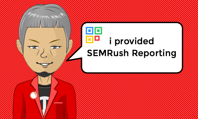 I provided SEMRush Reporting Services - Image - iQRco.de