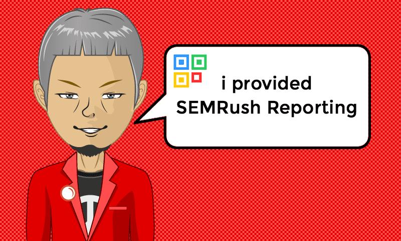 I provided SEMRush Reporting Services - Image - iQRco.de