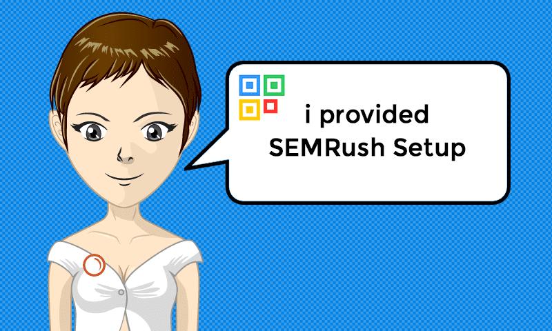 I provided SEMRush Setup Services - Image - iQRco.de