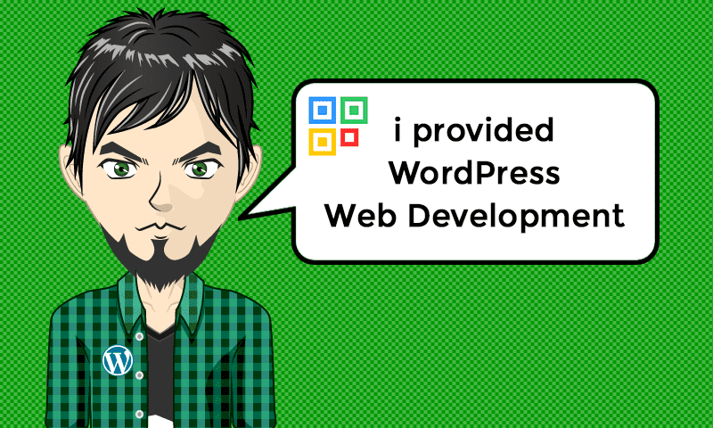 I provided WordPress Web Development Services - Image - iQRco.de