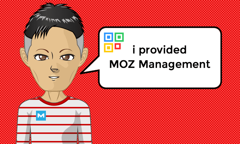 I provided Landing MOZ Management Services - Image - iQRco.de