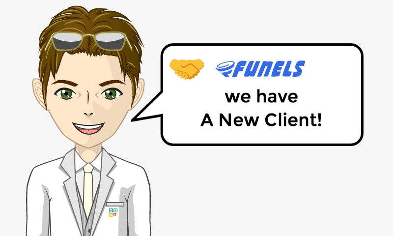 New Client Services - Funels - Image - iQRco.de