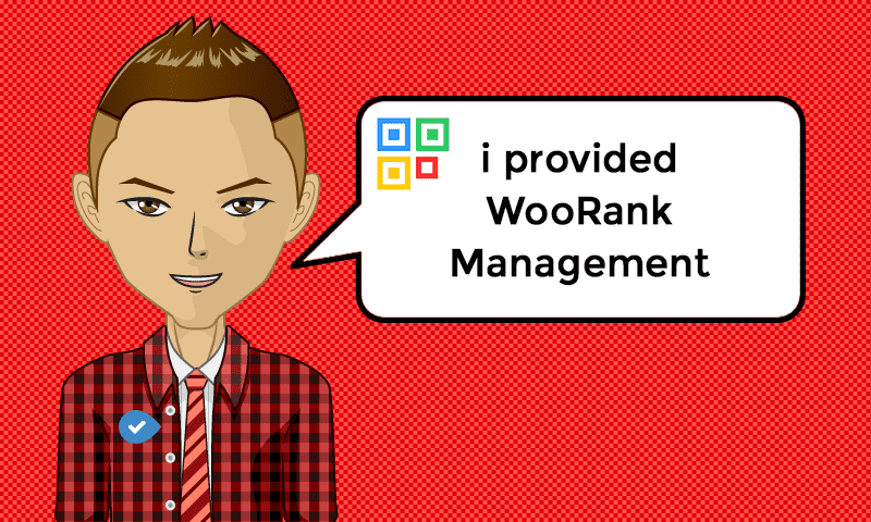 I provided Landing WooRank Management Services - Image - iQRco.de